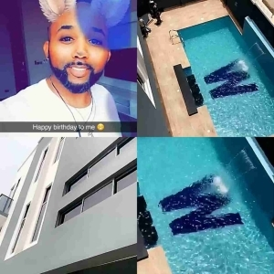 Actor/Singer Banky W Shows Off His New Mansion (Photos)
